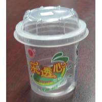 Wholesale Disposable Plastic Ice Cream Container 200ml , Straight Cup Body PET from china suppliers