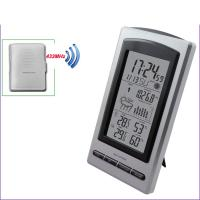 Wholesale Wireless Weather Station Digital Indoor/Outdoor Thermometer Hygrometer Temperature Humidity Meter Date Alarm ClockMS1066 from china suppliers