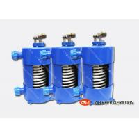 Wholesale Titanium Heat Exchanger For Salt Water Aquarium Chiller With Corrugated Tube from china suppliers