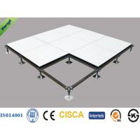 Wholesale Anti Static HPL Calcium Sulphate Raised Floor for Bank / Military , 600*600*32mm from china suppliers