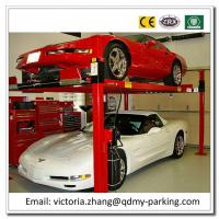 Wholesale On Sale! Cheap 3600kgs 4 post hydraulic car park lift Four Post Parking Lift  Stack System from china suppliers