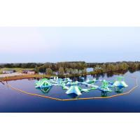 Wholesale Oxford Inflatable Aqua Park / Customized Inflatable Water Park Games For Lake from china suppliers