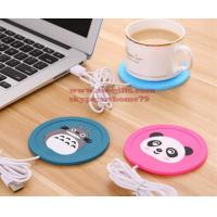 Wholesale New Cartoon 5V USB Warmer Silicone Heat Heater for Milk Tea Coffee Mug Hot Drinks Beverage Cup Mat Pad best gift from china suppliers