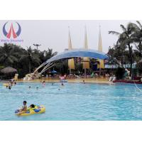 Quality Waterproof Shade Sails Tensioned Membrane Structures With Customised Shape for sale
