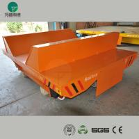 Wholesale Storage warehouse cable drum power motorized material transfer trolley from china suppliers