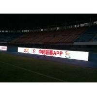 Quality P 6mm Football Stadium LED Display , Indoor perimeter advertising boards SMD3528 for sale