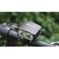 Wholesale Coomas C12 1600lm led bicycle light and headlight, 8.4V rechargeable battery led bike lighting from china suppliers