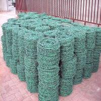 Wholesale (BWG14x14 or BWG16x16 with1.6 mm 2.1mm 2.5mm wire diameter) electric / hot dipped barbed wire from china suppliers