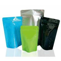 Quality Food Packaging Ziplock Stand Up Pouches Eco - Friendly Printed Stand Up Pouches for sale