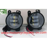 Wholesale Jeep Wrangler Off Road Fog Light Auto Parts Accessories 4 Inch 30W 12V Fog Lamp from china suppliers