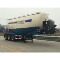 Wholesale V or W Shape Bulk Cement Truck Semi Trailer Anti - Rust Chassis Surface from china suppliers
