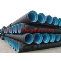 Wholesale PE pipe PE pipe PE water supply pipe HDPE Double Wall Corrugated Pipe from china suppliers