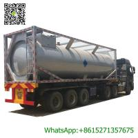 Wholesale 30ft Mobile LPG Gas Tank Container Gas Filling Station 30000L  LPG Gas Refilling Skid Plant Station from china suppliers