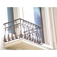 Wholesale Galvanized wrought iron fence/used wrought iron fencing from china suppliers