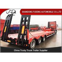 Wholesale Carbon Steel 60t Semi Low Bed Trailer And Truck With Tractor Horse from china suppliers