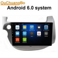 Quality Ouchuangbo car nultimedia kit for Honda Fit with radio gps navigation steering wheel control android 6.0 system for sale
