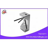 Wholesale Semi automatic RFID Half Height Turnstile for biometric security systems from china suppliers