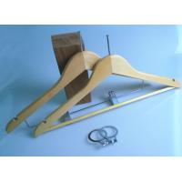 Wholesale Attractive Designs , OEM Wooden , Hotel Coat Hanger , Security Circles from china suppliers