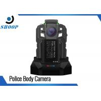Buy cheap 16GB Security Portable Body Camera , 1950mAh Battery Police Body Worn Video Camera from wholesalers