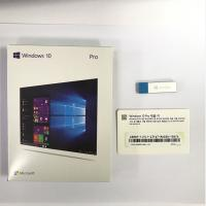 Wholesale 64/32 Bits Microsoft Retail Box 3.0 USB Flash Drive License Key Windows 10 Pro from china suppliers