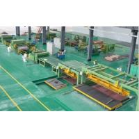 Quality High Speed Rotary Shear Cut To Length Line Steel Roll Forming Machine for sale