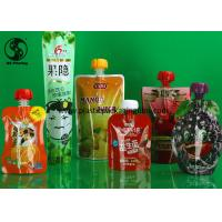 Wholesale Food Grade Laminated Material Stand Up Pouch Bags for Juice Packaging Multi Sizes from china suppliers