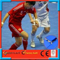 Wholesale Plastic Indoor Soccer Flooring Covering Non-Toxic , 25X25cm from china suppliers
