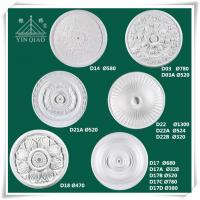 Wholesale Chinese interior decorative gypsum plaster ceiling medallions from china suppliers