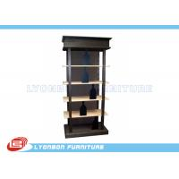 Wholesale Fashionable Black Solid Wooden Display Racks SGS For Wine Presenting from china suppliers
