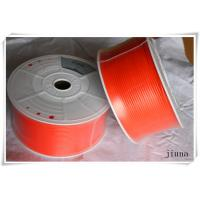 Wholesale 8mm diameter  orange color PU Transmission Polyurethane Round Belting from china suppliers
