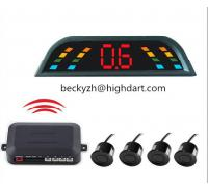 Wholesale CE Wireless Car Reversing Reverse Parking Kit Buzzer Alarm LED Display Parking Sensor from china suppliers