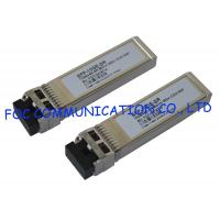 Buy cheap 850nm SFP Optical Transceiver 10Gbps Multimode 300M For Fiber Network from wholesalers