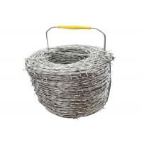 Wholesale Hot - Dipped Galvanized Security Barbed Wire For Airport Prison Fence from china suppliers