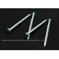 """Wholesale Needle Point Electro Galvanized Twisted Nails 4"""" X BWG7 Twisted Shank Nails Resist Corrosion from china suppliers"""