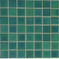 Quality Glossy Glass Mosaics Tiles For Bathroom Wall for sale