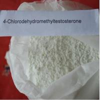 Wholesale CAS 2446-23-3 anabolic steroid hormones 4- Chlorodehydromethyltestosterone from china suppliers