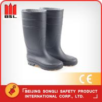 Wholesale SLS-ZY001BK  RAIN BOOTS from china suppliers
