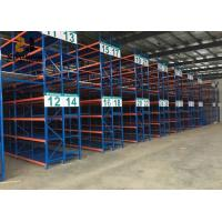 Wholesale Adjustable Shelf Height Light Duty Storage Rack / Steel Pallet Shelving Easy Assemble from china suppliers