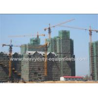Wholesale Tower crane with free height 50m and max load 10 T with warranty for construction from china suppliers