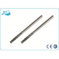 Wholesale Micro Grain Carbide Material Solid Carbide End Mill with 45 Helix from china suppliers
