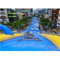 Wholesale Large Inflatable Water Slides , PVC Tarpaulin Outdoor Inflatable Slideway For funny from china suppliers
