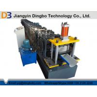 Buy cheap Full Automatic Panasonic PLC controlling Steel Gutter Roll Forming Machine from wholesalers
