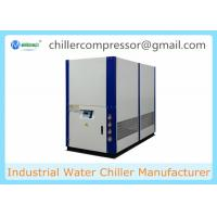 Buy cheap 5-35 degree Celsius Water Cooled Scroll Chiller with Copeland Compressor for Extrusion Line from wholesalers