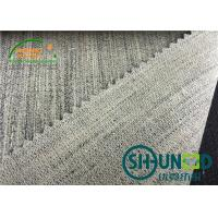 Wholesale Canvas Smoothly Hair Interlining Elastic For Suit / Uniform / Jacket from china suppliers