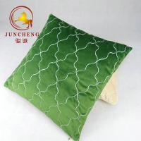 Wholesale Wholesale solid velvet fabric cushion home decoration velvet quilted cushion cover from china suppliers