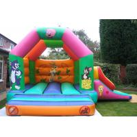 Wholesale Custom Cartoon Inflatable Combo Tom And Jerry Bouncy Castle For Rent from china suppliers