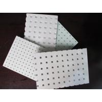 Quality PERFORATED ACOUSTIC GYPSUM CEILING BOARD for sale
