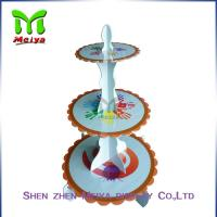 Wholesale Single tiers Cardboard Cake Stands For Decration Christmas Party from china suppliers