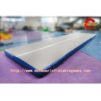 Wholesale Gymnastics Inflatable Air Track Tumble Track 0.55mm PVC Inflatable Air Mat For Gym from china suppliers