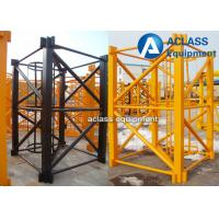Wholesale QTZ63 Building Construction Hoist Galvanized Mast Section 1.68*2.5m from china suppliers